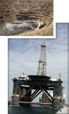 Oil and Mineral Project